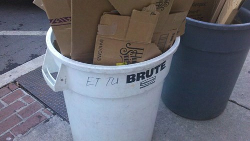 julius caesar et tu brute recycling funny - 8086499584