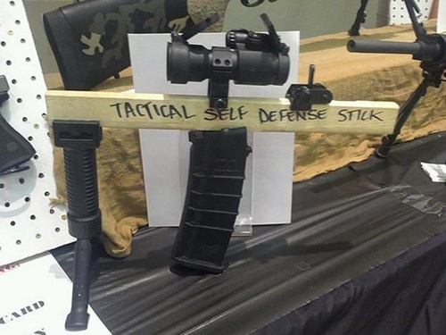 tactical defense stick guns - 8086555392