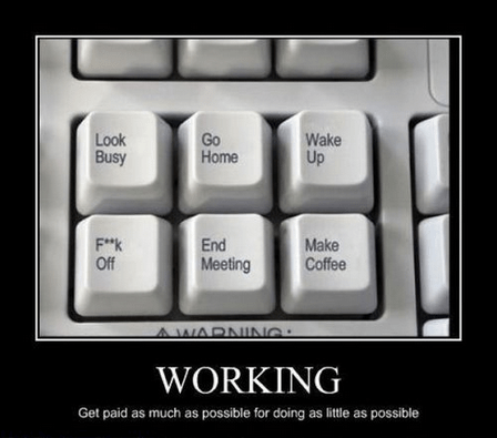 lazy work funny keyboard - 8086580736