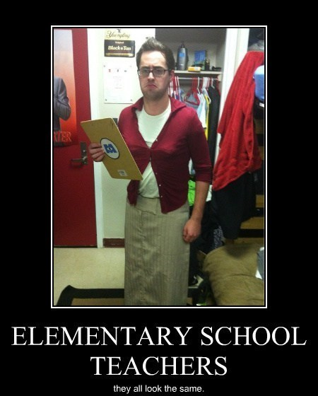 teacher,cross dressing,funny