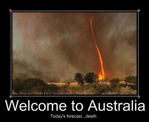 wtf tornado australia fire dangerous funny - 8086680832