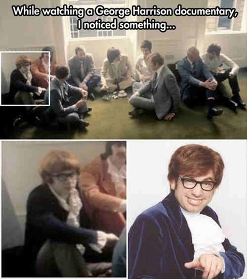 documentary,austin powers,george harrison
