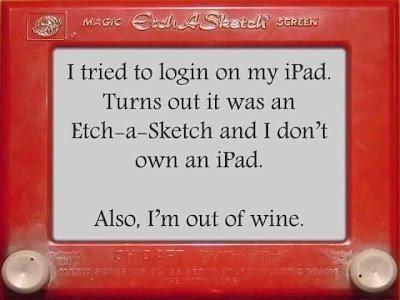 Etch A Sketch,wine,funny