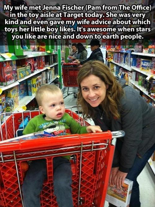 Babies jenna fischer celebrities are people too Target
