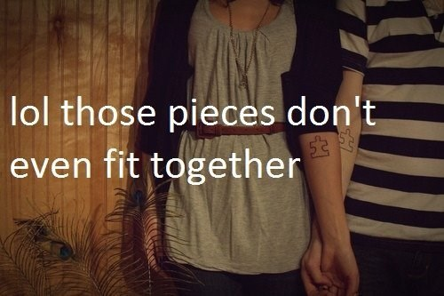 puzzle tattoos idiots funny - 8086814720