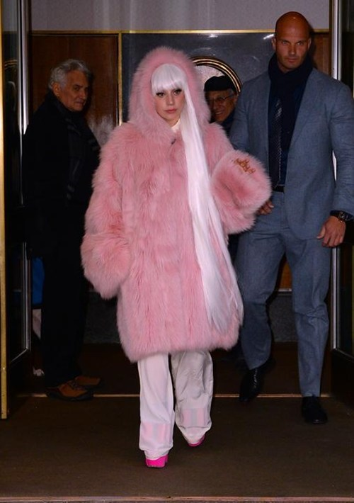 fashion flufflepuff lady gaga