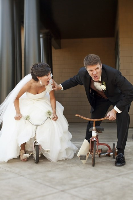 marriage,trikes,wedding,funny