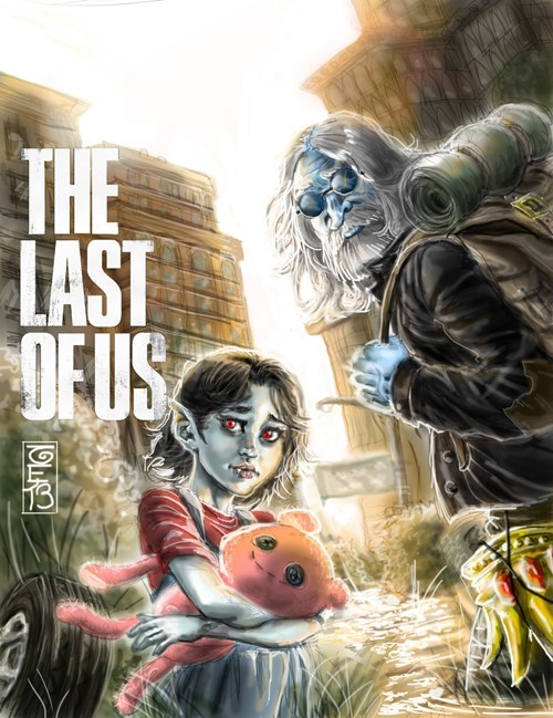 Fan Art,the last of us,cartoons,video games,adventure time