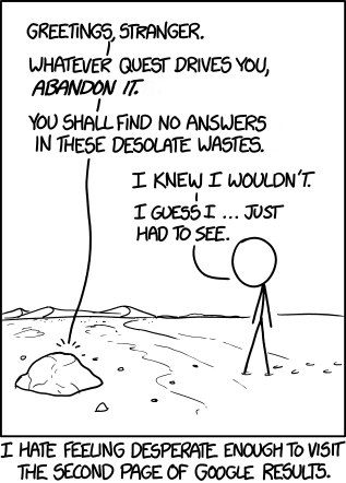 google search comics xkcd webcomics google - 8086943744