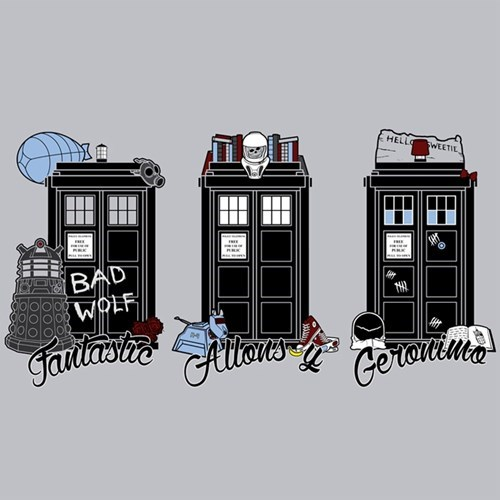 10th doctor tardis t shirts 11th Doctor 9th doctor - 8086958592