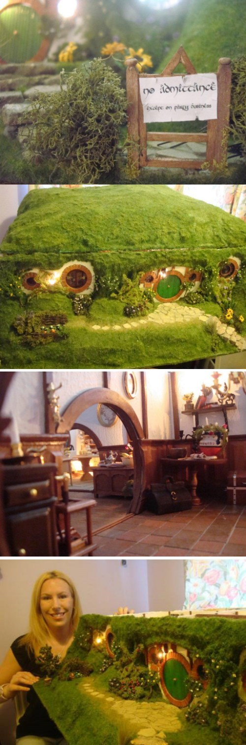 hobbit hole,The Hobbit,dollhouse