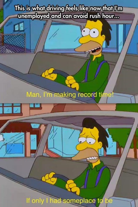rush hour the simpsons unemployment - 8086999296