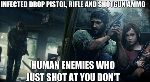 the last of us,video game logic
