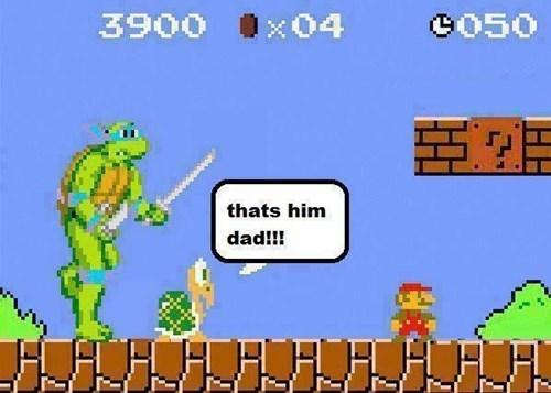 TMNT Super Mario bros - 8087013888