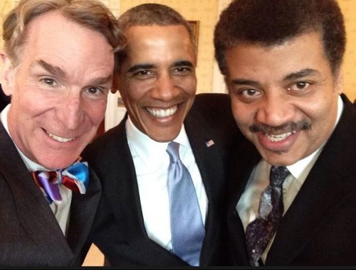bill nye selfie barack obama Neil deGrasse Tyson best selfie ever - 8088612608