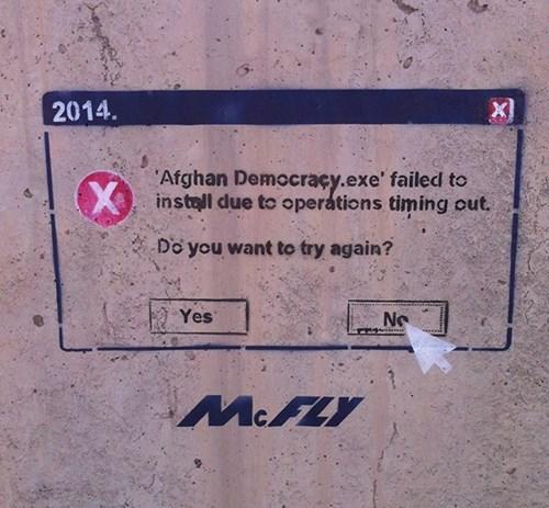 windows graffiti afghanistan - 8088629760
