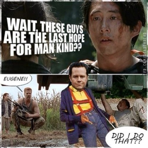 science,Glenn Rhee,The Walking Dead