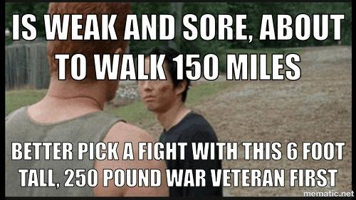 Glenn Rhee logic The Walking Dead - 8088681472