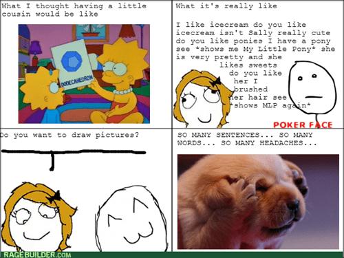 expectation vs reality cousins kids poker face - 8088875264