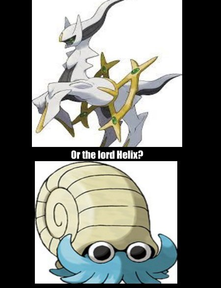 Do you serve Arceus?