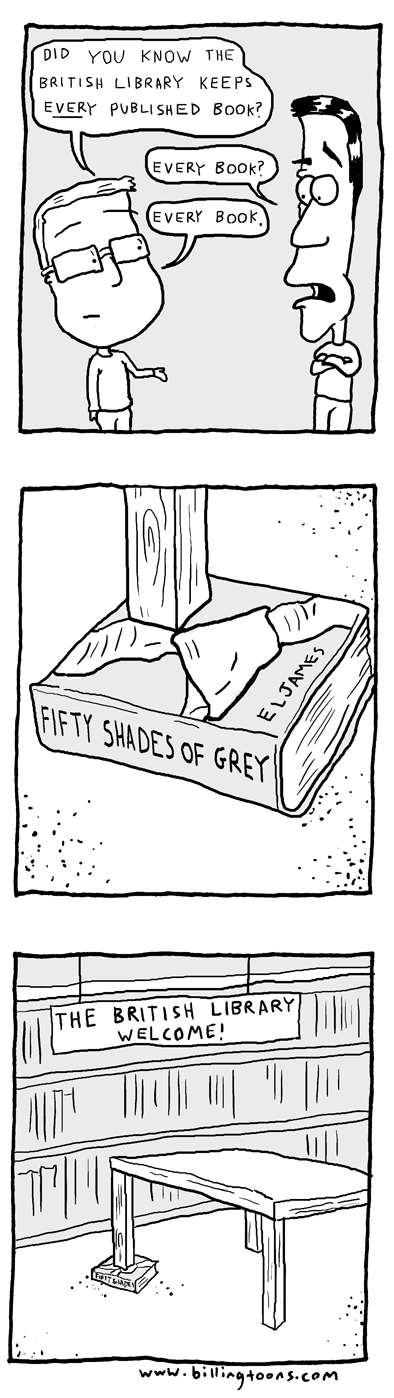 libraries,fifty shades of grey,books,web comics