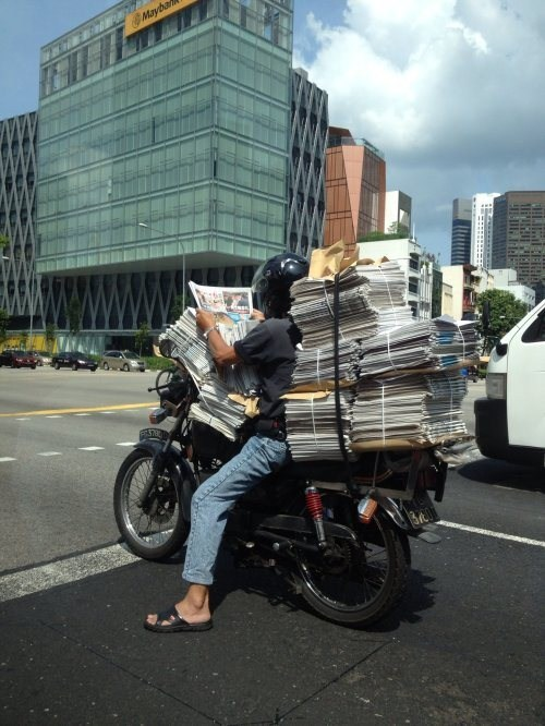 motorcycle special delivery bike dangerous