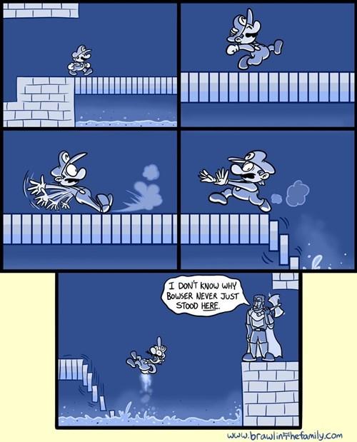 Super Mario bros web comics - 8089530112