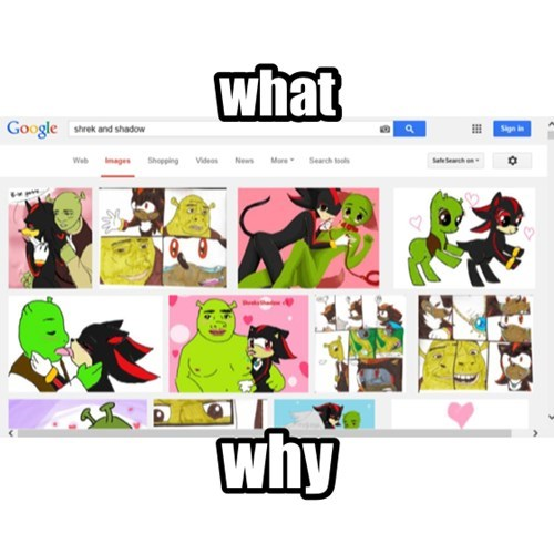 wtf shadow Fan Art shrek - 8089588480