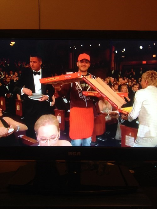 pizza,pizza delivery,oscars