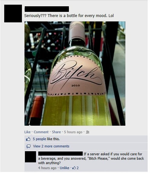 bitch please wine failbook - 8089990144