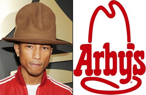 arbys pharrell rediculous hats ebay - 8090473472
