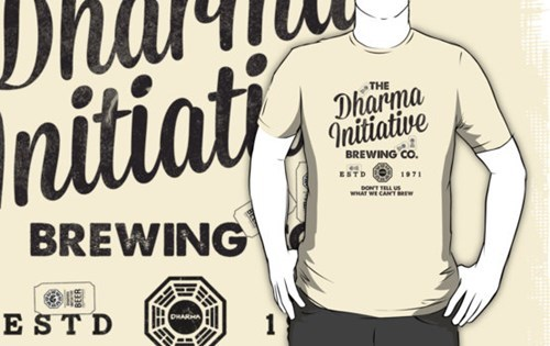 beer wtf dharma initiative funny lost - 8090475776