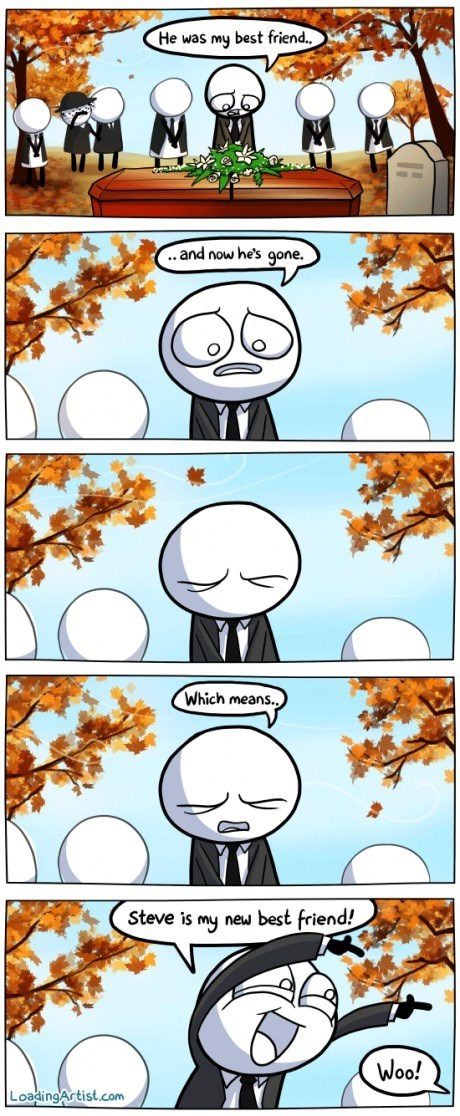 funerals friends web comics - 8090514688