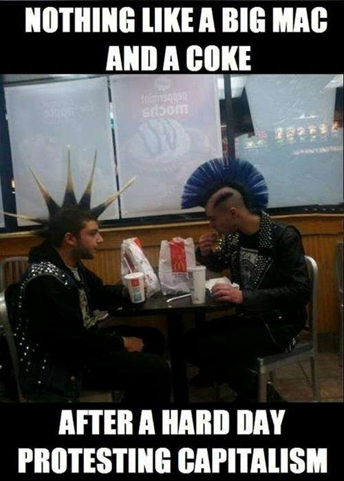 McDonald's capitalism punks - 8090574848