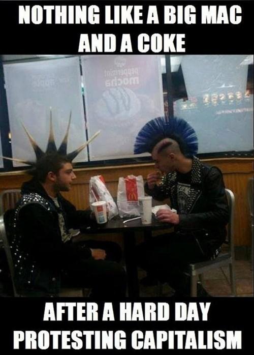 McDonald's capitalism - 8090574848