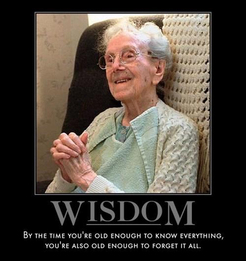 old memory wisdom funny - 8090580736