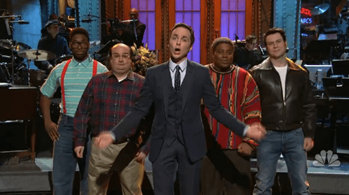 the fonz,the cosby show,george castanza,urkel,SNL,Angela Lansbury,jim parsons