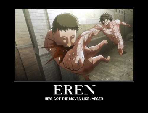 eren jager,anime,attack on titan,funny