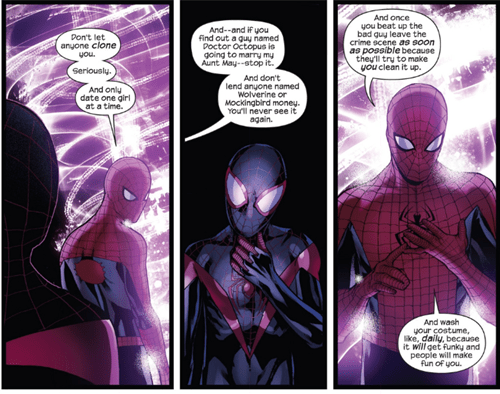 Straight off the Page advice Spider-Man - 8090664960