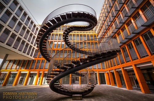 munich,photos,penrose stairs