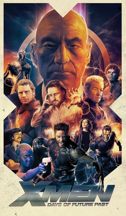 twitter Fan Art days of future past x men - 8090727936