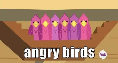 angry birds puns MLP - 8090807552
