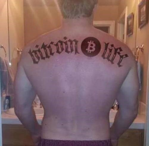 nerds bitcoin tattoos Ugliest Tattoos - 8090878464