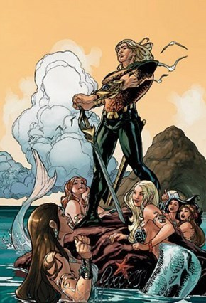 mermaids off the page aquaman - 8090898944