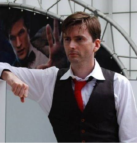 hair David Tennant Matt Smith - 8090915584