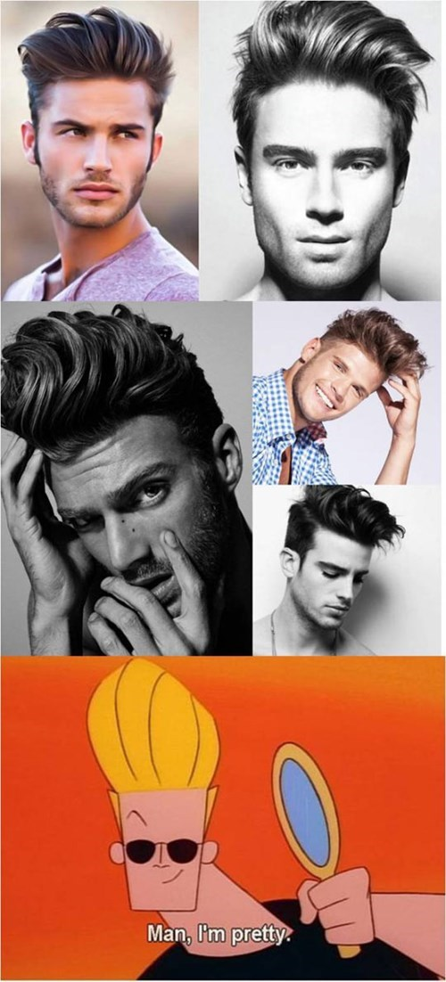 male models fashion johnny bravo