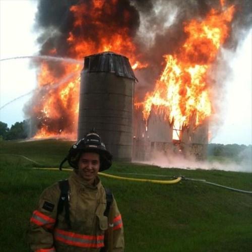 firefighters fire - 8091102208