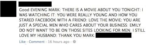 grandma facebook the social network Mark Zuckerberg - 8091122944