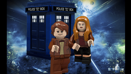 doctor who,lego,playsets