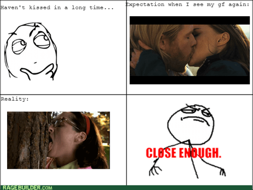 Close Enough,kissing,relationships